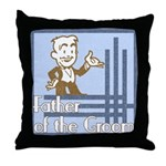 Deco Father of the Groom Throw Pillow