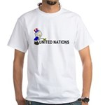 Piss On United Nations White T-Shirt