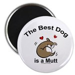 Best Mutt Dog Magnet