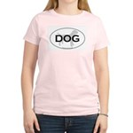 DOG Women's Pink T-Shirt