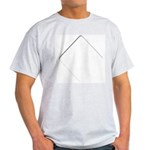 The Diamond Zone Ash Grey T-Shirt