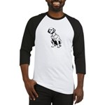 Top Dog Dalmations Baseball Jersey