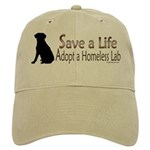 Adopt Homeless Lab Khaki Cap