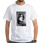 Playwright Oscar Wilde White T-Shirt
