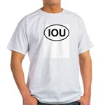 IOU European Oval Cheap Skate Light T-Shirt