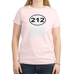 212 New York City Area Code Women's Light T-Shirt