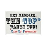 Kiddies, the GOP Wants You Rectangle Magnet