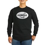 Rescue DAD Long Sleeve Dark T-Shirt