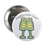 Happy New Years Toast Button