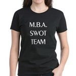 MBA SWOT Team Women's Black T-Shirt