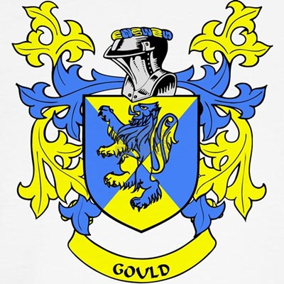 For more GOULD Coat of Arms shirts, family heraldry mugs, hats, family crest
