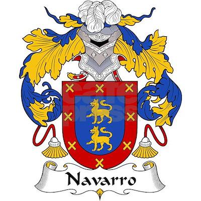 CafePress > Bags > Navarro Family Crest Tote Bag. Navarro Family Crest Tote