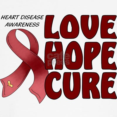 Help raise heart disease awareness with hope for a cure.