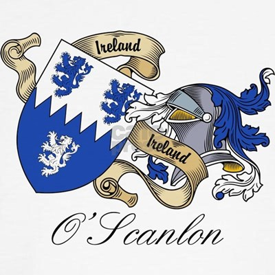 O'Scanlon Coat of Arms CLICK HERE FOR MORE O'SCANLON FAMILY CREST GIFTS