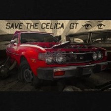 Save celica gt t shirt