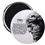 """Plato Truth Reality 2.25"""" Magnet (100 pack)"""