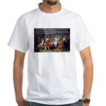 Death of Socrates White T-Shirt