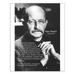 Max Planck Quantum Theory Small Poster