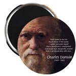 Charles Darwin: God Creation Magnet