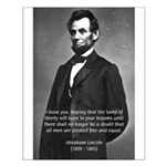 Abraham Lincoln Small Poster