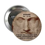 "Greek Philosophers: Aristotle 2.25"" Button (100 pa"