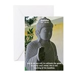 Eastern Philosophy: Buddha Greeting Cards (Package