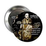 "Confucius 2.25"" Button (100 pack)"