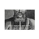 Eastern Wisdom: Confucius Rectangle Magnet (10 pac
