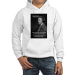 Politics: Edmund Burke Hooded Sweatshirt