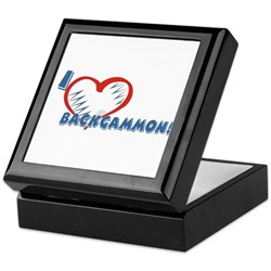 Backgammon Keepsake Box