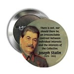 Joseph Stalin Button