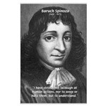 Philosopher Baruch Spinoza Large Poster
