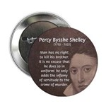 Writer Percy Bysshe Shelley Button