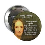 """Writer Mary Shelley 2.25"""" Button (100 pack)"""