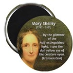 """Writer Mary Shelley 2.25"""" Magnet (100 pack)"""