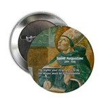 """Saint Augustine of Hippo 2.25"""" Button (10 pack)"""