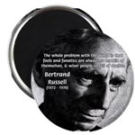 "Philosopher Bertrand Russell 2.25"" Magnet (10 pack"