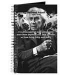 Bertrand Russell Philosophy Journal