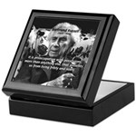 Bertrand Russell Philosophy Keepsake Box