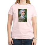 French Philosopher Rousseau Women's Pink T-Shirt