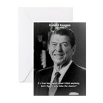 Humour of Ronald Reagan Greeting Cards (Package of