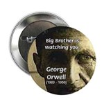 """Orwell Big Brother 1984 2.25"""" Button (10 pack)"""