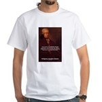 Mozart's Work: Symphony, Piano White T-Shirt