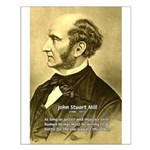 Utilitarianism John Mill Small Poster