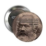 "History Analyst Karl Marx 2.25"" Button (10 pack)"