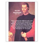 Political Theory: Machiavelli Small Poster