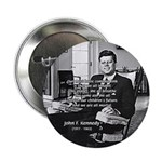 "Humanist John F. Kennedy 2.25"" Button (10 pack)"