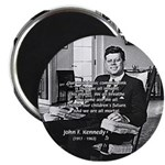 "Humanist John F. Kennedy 2.25"" Magnet (10 pack)"