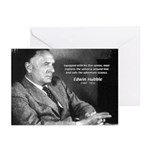 Exploration: Edwin Hubble Greeting Cards (Package