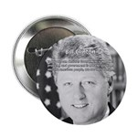 "Government Bill Clinton 2.25"" Button (10 pack)"
